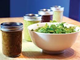 single serving homemade salad dressing