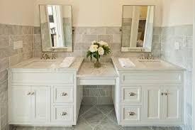 Distressed Bathroom Vanities Bathroom Vanity Transitional With Double Sinks In