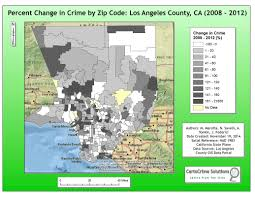 Los Angeles Crime Map by Crime Analysis Matt Marotta Gis Professional