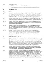 sample resume for marketing coordinator appendix b revised aashto t 84 improved test methods for