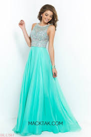 dh prom dresses arrival 2015 evening dresses sheer sequins scoop neck beaded