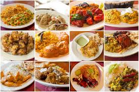 popular cuisine variety of popular indian food dishes in collage imagery stock photo