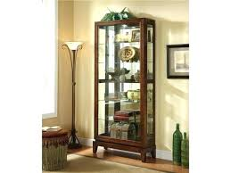 wood curio cabinet with glass doors black wood display cabinet timber glass display cabinet black wooden