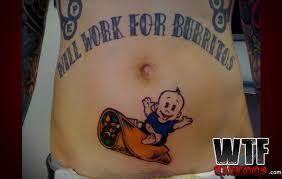 taco bell is always hiring tattoos