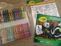 crayola supertips pipsqueaks and twistables sketch sets review