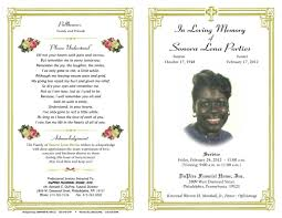 funeral obituary templates free printable memorial service programs complaint template letter