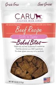 recipe for dog treats caru soft n tasty baked bites beef recipe grain free dog treats