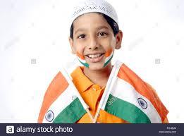 muslim boy holding indian flag stock photos u0026 muslim boy holding