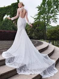 mermaid wedding dresses lace mermaid trumpet wedding dresses cheap online tidebuy