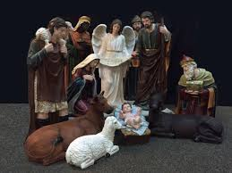 large outdoor nativity sets for churches outside creche