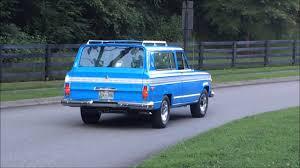 1971 jeep wagoneer 1975 jeep cherokee s video 1 youtube