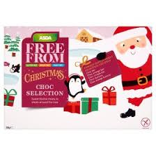 asda free from christmas choc selection asda groceries