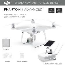 dji phantom 4 advanced gps drone with 4k 20mp hd camera brand new