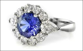 engagement rings with blue stones getting married this year wedding trends for 2011