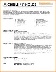 Dental Assistant Resume Sample by 5 Experienced Dental Hygienist Resume Financial Statement Form