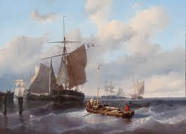 painting ship french artwork sailing ship classic art