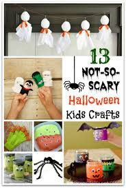 13 not so scary halloween kids crafts food fun u0026 faraway places