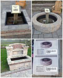 Rumblestone Fire Pit Insert by Outdoor Fireplace Kits For The Diyer Shine Your Light