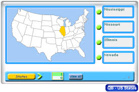 united states map with all the states and cities memorize the united states map