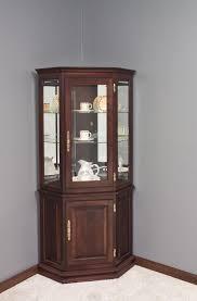 Tall Corner Display Cabinet Decoration Tall Narrow Glass Cabinet Modern Corner Display