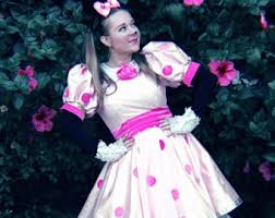Pink Minnie Mouse Halloween Costume Minnie Mouse Costume Etsy
