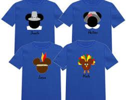 thanksgiving disney vacation shirts