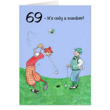 69th birthday card 69th cards invitations zazzle co uk