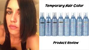 best wash out hair color dark hair for one day wash out color mousse hair fun youtube