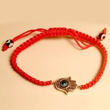 hamsa evil eye string bracelet at lucky charms 18 lucky charms 18
