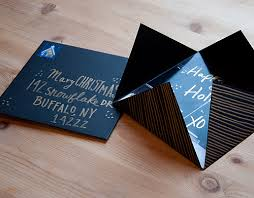 Business Printed Christmas Cards Diy Project Printed Picture Holiday Cards U2013 Design Sponge
