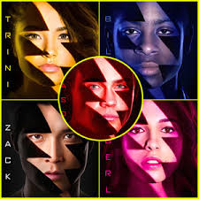 power rangers movie u0027 drops posters comic becky