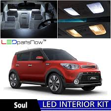 kia soul interior 2017 amazon com ledpartsnow 2014 u0026 up kia soul led interior lights