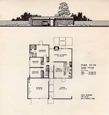 Eichler Floor Plan Eichler Homes Of Foster City Brochure Leaflet 1 Plan Fc U2026 Flickr