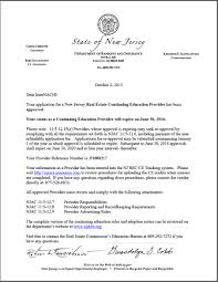 Real Estate Commission Agreement Template by New Jersey Real Estate Commission Approves Internachi As A Course