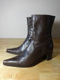 womens boots size 5 womens boots size 5 clarks brown leather cowboy boots size