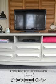 Entertainment Center Ideas Diy Curbside Dresser Turned Entertainment Center My Creative Days
