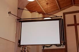 home theater screen fabric press room draper inc