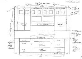 kitchen baseinet dimensions in inspiring standardin remodeling