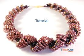 beaded seed bead necklace images Seed bead necklace pattern beaded necklace pattern beading jpg