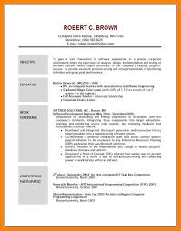 Sample Objective Statement Resume Sample Objective In Resume Resume Free Resume Objective Samples