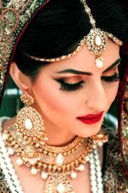 Bridal Makeup Ideas 2017 For Wedding Day Bridal Makeup Look With Mathapatti Dresses Khazana
