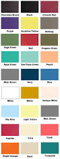 list of colors available for customizing your signs u2013 rustica home
