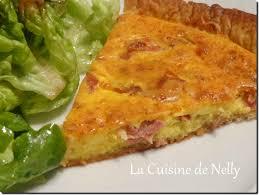 cuisine auvergne tarte au cantal et jambon d auvergne la cuisine de nelly