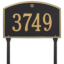 Home Decor Signs And Plaques Address Signs Mailboxes Posts U0026 Addresses The Home Depot