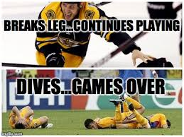 Hockey Meme Generator - creating and deconstructing my very own meme there is no wifi in