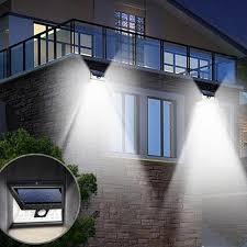 solar powered sensor security light wide angle solar powered motion sensor security light next deal shop