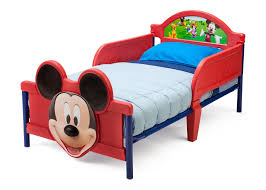 Sleep Number Bed Instructions Video Mickey Mouse Plastic 3d Toddler Bed Delta Children U0027s Products