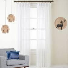 Curtains 240cm Drop Ready Made Sheer Curtains White Sheer Curtain Quickfit Curtains