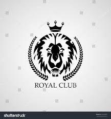 lion king template lion logo royal club vector logo stock vector 397669069 shutterstock