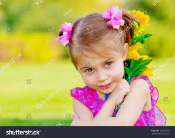 happy baby playing outdoor cute stock photo 131823746